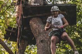 Gdynia Atrakcja Skok wahadłowy Skok adrenaliny - Kolibki Adventure Park